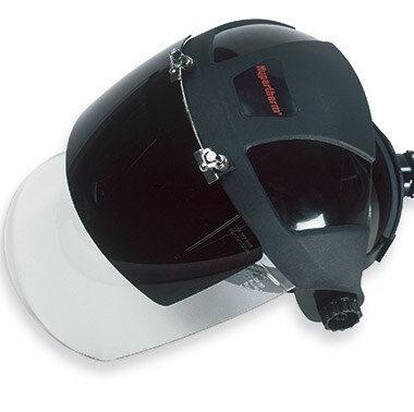 Careta para cascos de operador